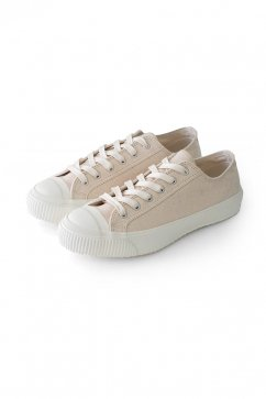 Nigel Cabourn woman - ARMY TRAINERS LOW TOP - ECRU