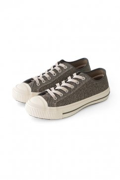 Nigel Cabourn woman - ARMY TRAINERS LOW TOP - DARK OLIVE