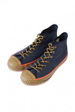 Nigel Cabourn woman- MILITARY SHOES HIGH TOP (HALFTEX) - NAVY