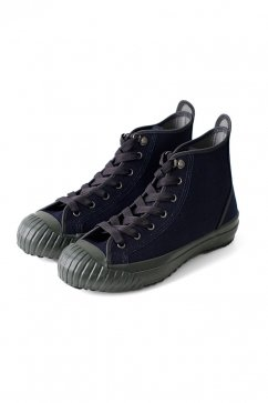 Nigel Cabourn woman - ARMY TRAINERS HIGH TOP - NAVY