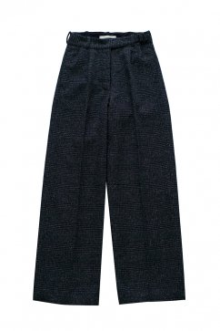 PANTS - WRYHT - ARTISAN SACK TROUSER - GLEN CHECK - Price 48,600 tax-in