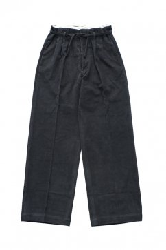 PANTS - WRYHT - STRING WAIST WORK TROUSER - GRAPHITE - Price 45,360 tax-in