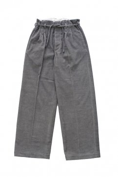 PANTS - WRYHT - STRING WAIST WORK TROUSER - PEWTER - Price 45,360 tax-in