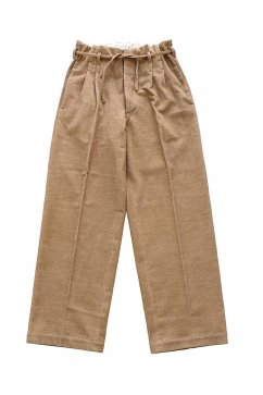 PANTS - WRYHT - STRING WAIST WORK TROUSER - BISQUE - Price 45,360 tax-in