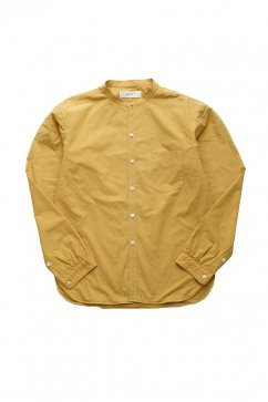 SHIRT - WRYHT- STUD BUTTON BAND COLLAR SHIRTS - MANDARINE - Price 30,240 tax-in