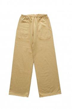 WRYHT - HARD COTTON SWEAT PANTS - MANDARINE