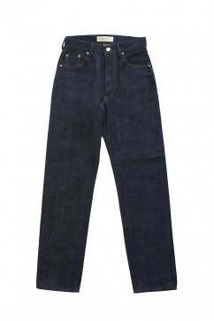 WRYHT - TAPERD FIVE POCKET JEANS - INDIGO LOW