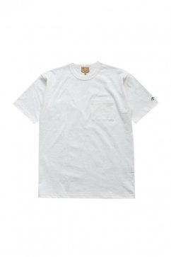 Nigel Cabourn woman - WIDE SILHOUETTE T-SHIRT- WHITE