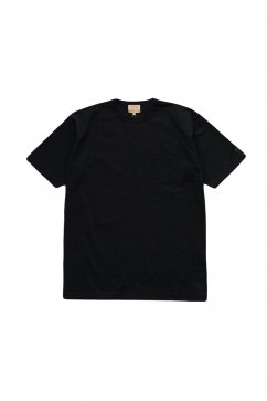 Nigel Cabourn woman - WIDE SILHOUETTE T-SHIRT- BLACK