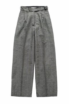 WRYHT - ARTISAN SACK TROUSER - GLEN CHECK