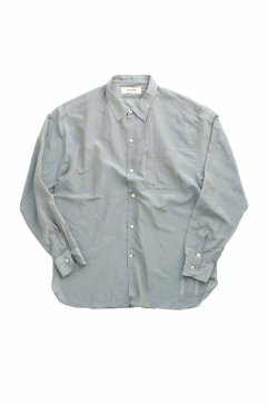WRYHT - SIMPLE SMALL COLLAR SHIRTS - OPALINE