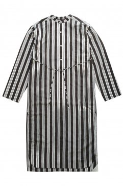 SHIRT - WRYHT - BACK-PLACKET BAND COLLER LONG SHIRTS - GRAPHITE - Price 38,880 tax-in