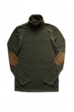TOPS - Nigel Cabourn for Women's - WASHABLE TURTLENECK - GREEN - Price 12,960 tax-in