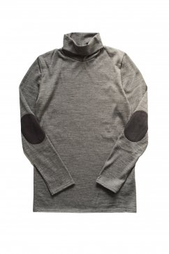 TOPS - Nigel Cabourn for Women's - WASHABLE TURTLENECK - CHACOAL GRAY - Price 12,960 tax-in