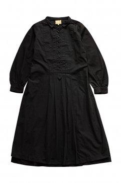 Nigel Cabourn woman - COTTON DRESS - NAVY
