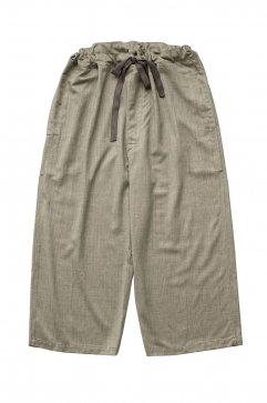 PANTS - humoresque - STRING PANTS - HERRINGBONE - Price 48,600 tax-in