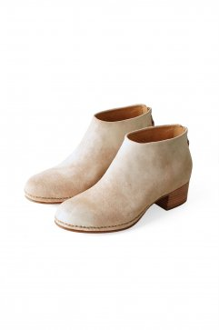BOOTS - FEIT - CEREMONIAL MID HEEL BOOT - RAW WHITE - Price 90,720 tax-in
