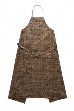 DRESS - WRYHT - ATELIER DRESS - GLEN CHECK SIENNA - Price 48,600 tax-in