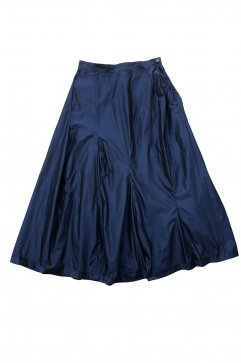 SKIRT - humoresque - MIX TUCK SKIRT - NAVY - Price 64,800 tax-in