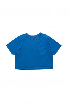 Nigel Cabourn woman - FREEDOM SLEEVE BIG T PIGMENT - NAVY