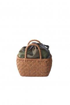 Nigel Cabourn - BASKET BAG SMALL - OLIVE