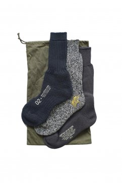 Nigel Cabourn woman - 3-PACK ARMY SOCKS - NAVY