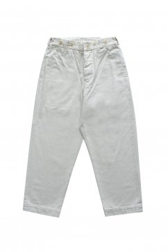 Nigel Cabourn WOMEN'S - CROPED PANT - IVORY