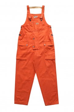 Nigel Cabourn WOMEN'S - LYBRO NAVAL DUNGAREE MIX - VINTAGE ORANGE