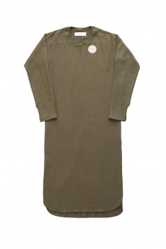 WRYHT- CREW-NECK RIBBED DRESS - VERECH