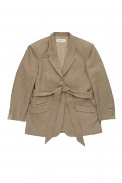 WRYHT - BELTED COUNTRY JACKET - DUNE
