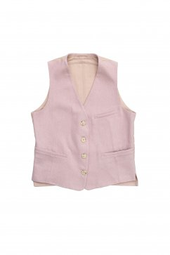 WRYHT - COUNTRY SACK VEST - ROSE