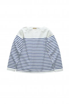 Nigel Cabourn woman - BASQUE SHIRT - OFF WHITE