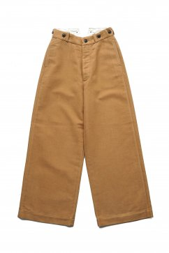 Nigel Cabourn WOMEN'S - WIDE CHINO - BEIGE
