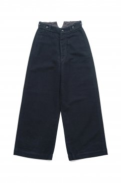 Nigel Cabourn WOMEN'S - WIDE CHINO - NAVY