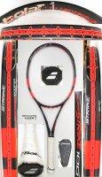 【中古テニスラケット】BA0687 バボラ ピュアストライク100(2013年モデル)