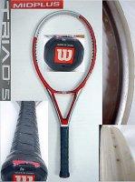 【中古テニスラケット】W0051 ウイルソン トライアド5 ミッドプラス  TRIAD5 MIDPLUS