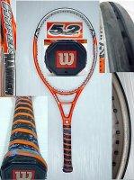 【中古テニスラケット】W0073 ウイルソン ハイパーハンマー5.2 OS HYPERHAMMER5.2 OS