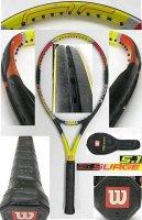 【中古テニスラケット】W0437 ウイルソン プロスタッフサージ5.1 Prostaff SURGE5.1