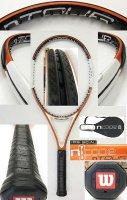 【中古テニスラケット】W0510 ウイルソン nツアー105(インポート) nTOUR105