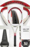 【中古テニスラケット】W0787 ウイルソン SIX.ONE 95 US (16×18) 値下げしました【H27/09/01】