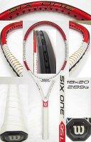 【中古テニスラケット】W0793 ウイルソン SIX.ONE 95L (18×20)海外モデル 値下げしました【H27/09/01】