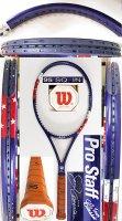 【中古テニスラケット】W1106 ウイルソン プロスタッフ ツアークラシック95 ジム・クーリエ