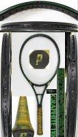 【中古テニスラケット】P0730 プリンス グラファイト110【TAIWAN】 値下げしました【H29/09/19】