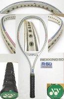 【中古テニスラケット】Y0462 ヨネックス R−50 REXKING 50 R-50 値下げしました【H27/05/14】