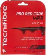 【ストリング+張り代セットで20%OFF】テクニファイバー プロレッドコードWAX1.25 【PRO RED CODE WAX1.25】