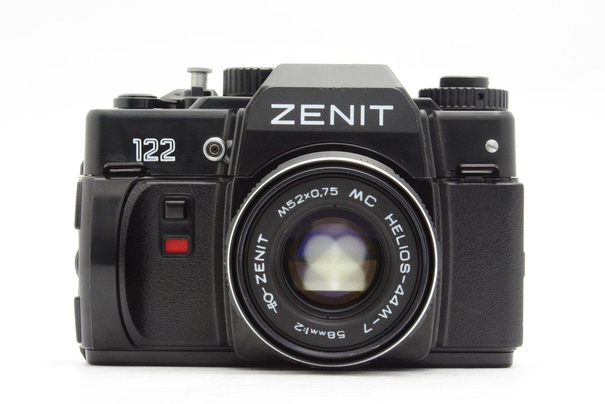 kmz zenit ゼニット 122 valdai helios 44m 7 58mm f2 filmcameratokyo