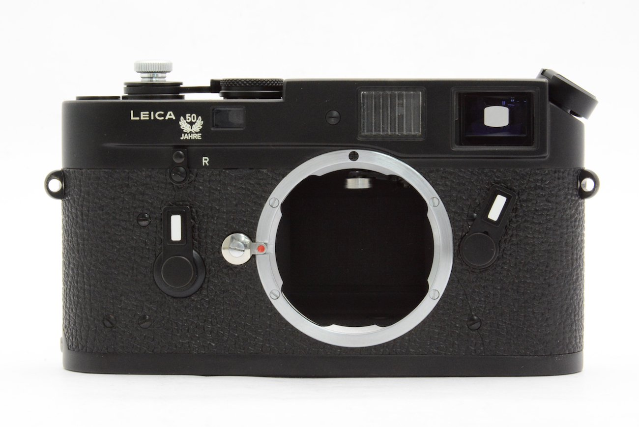LEICA ライカ M4 50 JAHRE WETZLAR GERMANY SN.1414283 BLACK CHROME 1975年製