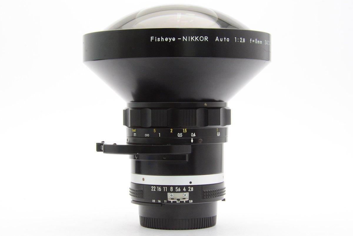 Nikon ニコン AI FISHEYE NIKKOR Auto 8mm F2.8 Fマウント