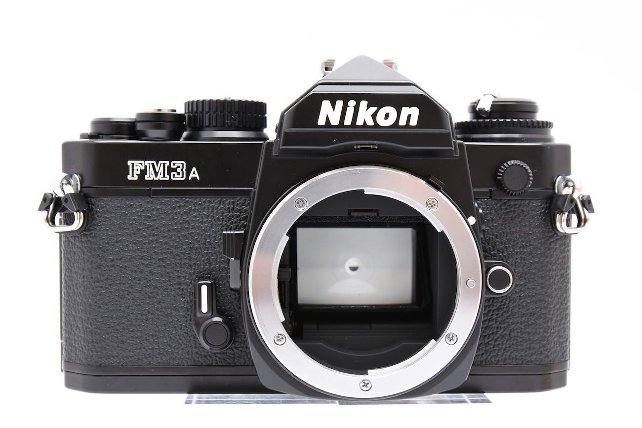 Nikon ニコン FM3A ブラックボディ + MF-16