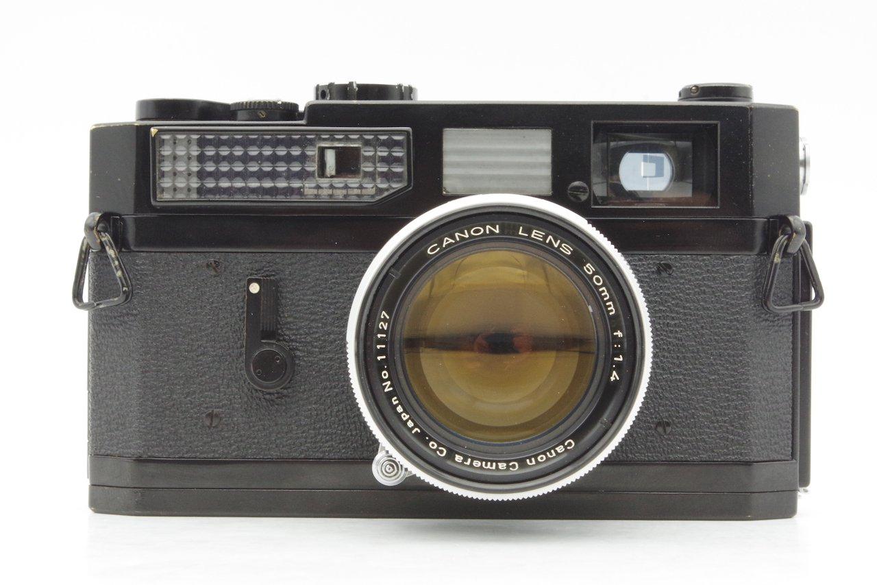 CANON キヤノン MODEL 7 BLACK + CANON LENS 50mm F1.4 ライカLマウント互換レンジファインダーカメラ